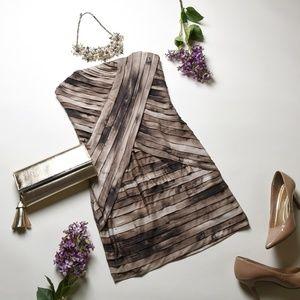 GUESS Los Angeles Beige Bodycon Dress - Size M